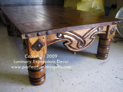spanish colonial coffee tables