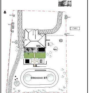 Landscape Design for final first phase