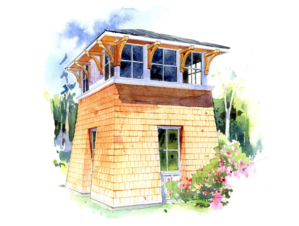 The Tower Studio Perfect Little House