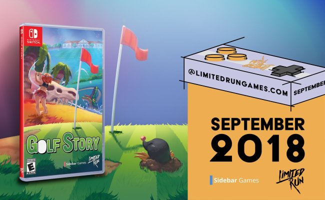 Limited Run Games Line Up For 2018 And 2019 Golf Story
