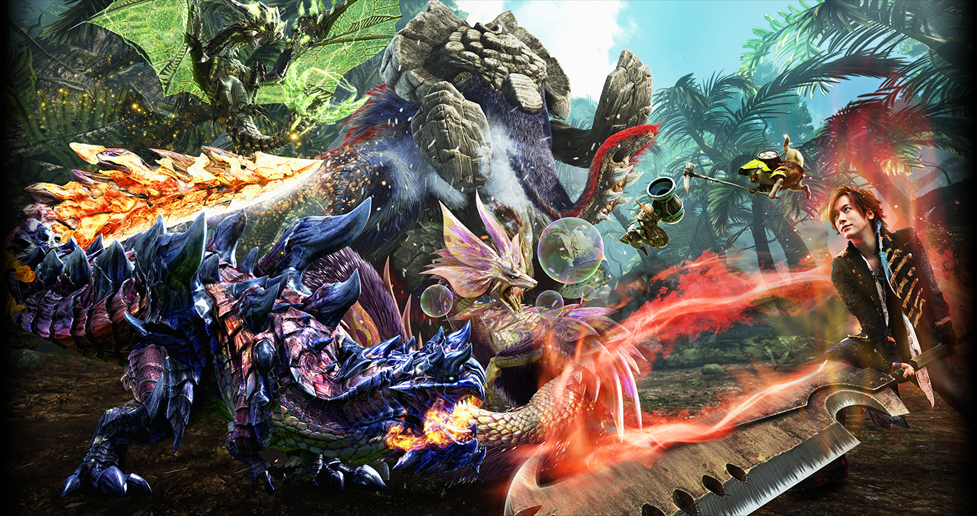 Monster Hunter X: new details (outraged monsters). pictures. footage. more - Perfectly Nintendo