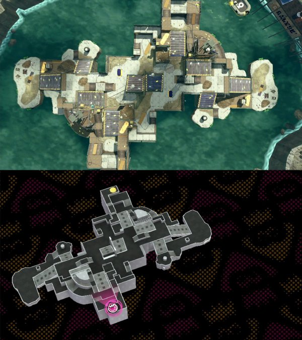 Splatoon new map to be added in a few hours Pirahna Pit