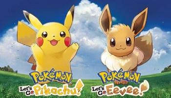Pokémon: Let's Go, Pikachu! / Let's Go, Eevee! - List of