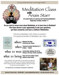 Meditation Class Polson