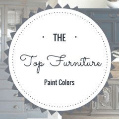 Top 4 Paint Colors for Furniture