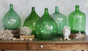 Decorating With Demijohn Bottles