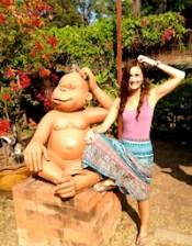 Elyse Macartney in Thailand