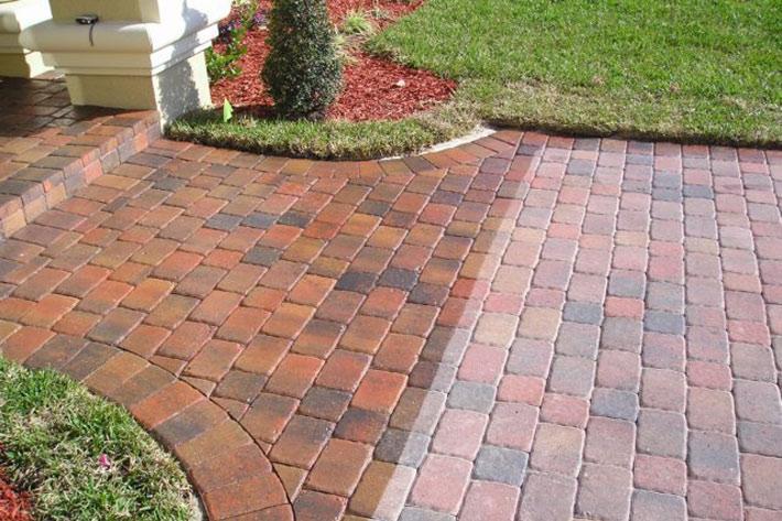 paver sealing vs polymeric sand paver