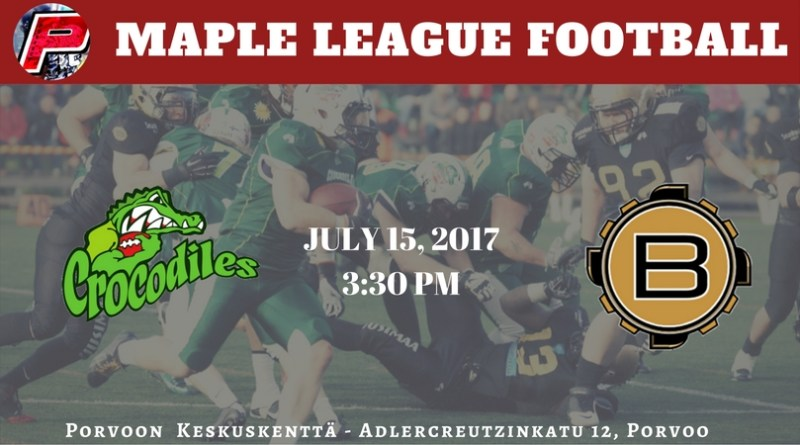 Seinäjoki Crocodiles Look to Upset the Porvoon Butchers in the Maple League
