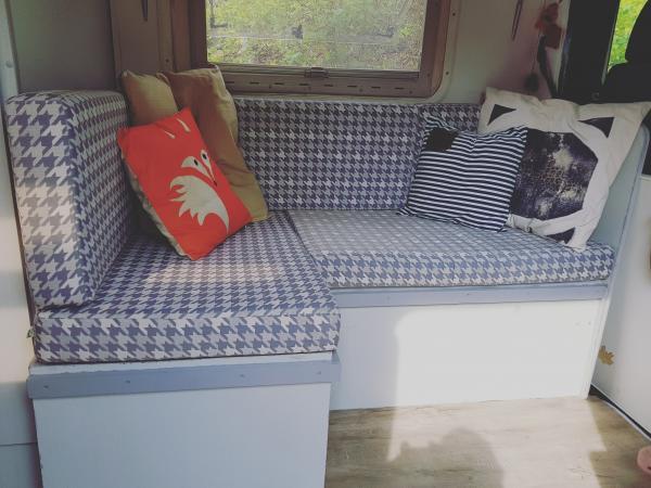 Caravankussens op maat gemaakt voor caravan of camper