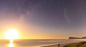 Ανατολή του ηλίου σε έναστρο ουρανό!