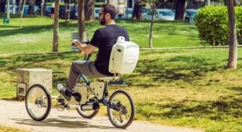 Elektronio: Ένα τρίτροχο ηλεκτρικό ποδήλατο από τη Θεσσαλονίκη ετοιμάζεται να κατακτήσει τις πόλεις του κόσμου