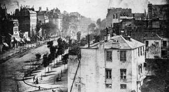 Η παλιότερη φωτογραφία του Παρισιού!