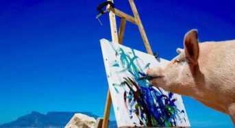 Ένας διαφορετικός… καλλιτέχνης με έργα αξίας χιλιάδων δολαρίων