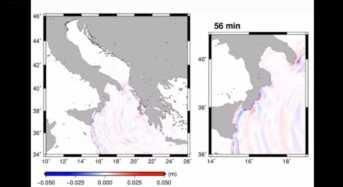 Εντυπωσιακό βίντεο: Σε 56 λεπτά έφτασε το τσουνάμι από τη Ζάκυνθο στην Ιταλία