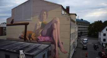 Τεράστια γκράφιτι καλύπτουν ολόκληρους αστικούς τοίχους!