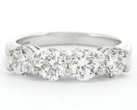 2.02ct Four Stone Diamond Eternity Ring MD021 Ireland ...