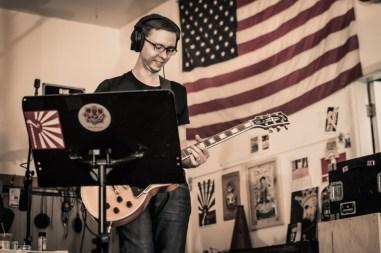 Eric on guitar.