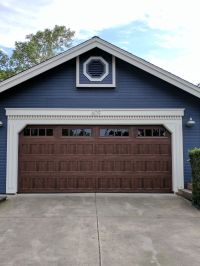 Amarr Oak Summit 1000 Walnut Garage Door