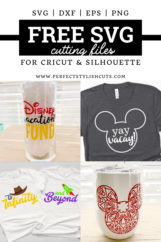 Download Free Disney Vacation SVG Files For Cricut and Silhouette ...