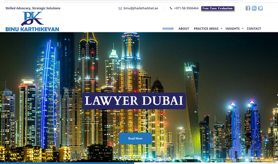 Dubai best lawyer