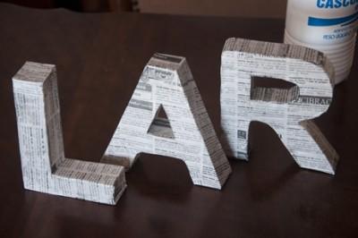 DIY Letras decorativas6