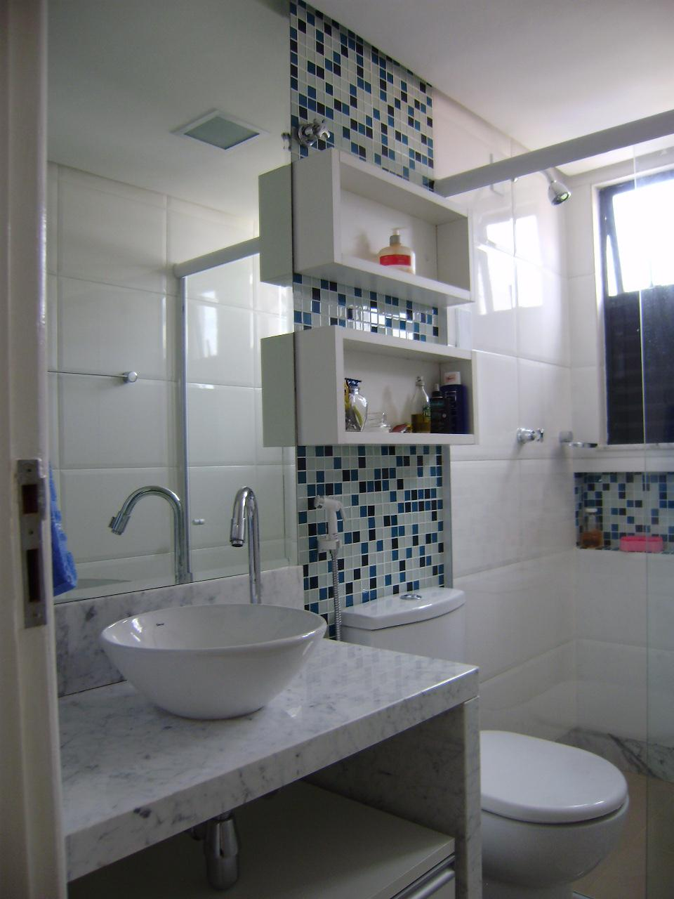 Dicas de Decorao para Banheiros Pequenos