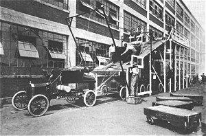 1915 ford model t wiring diagram e bike battery perfessor bill edwards ragtime era nostalgia inventions final body assembly line