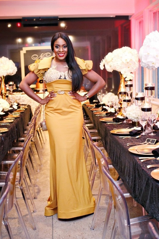Black and Gold Party Inspiration by Elle's Couture Events