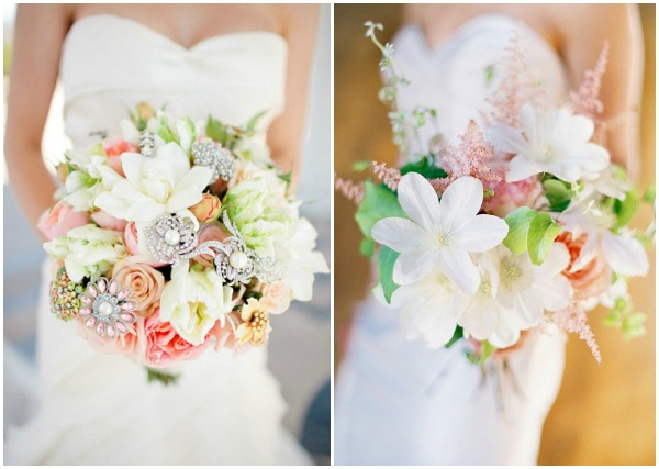 1. Fantasy Floral Designs, Image by Table 4 Weddings via Belle The Magazine | 2. Jose Villa Photography