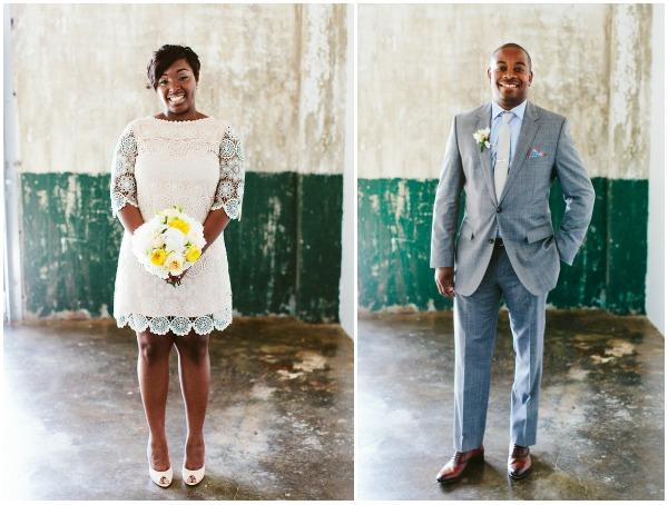 Cute Mini Wedding Dress