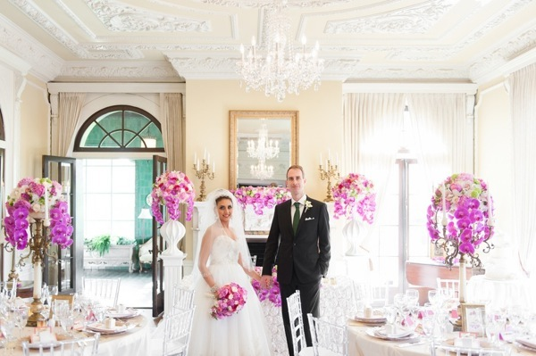 Pink Wedding at the Hycroft Mansion Will Pursell Photography 58
