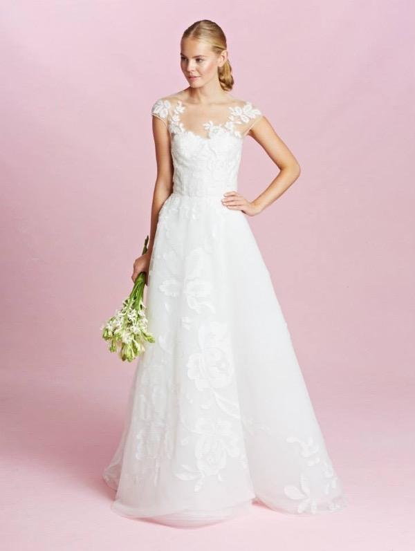 Oscar de la Renta Bridal Fall 2015 4