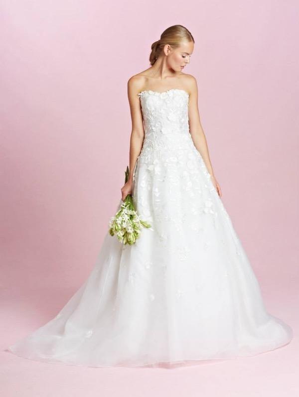 Oscar de la Renta Bridal Fall 2015 5