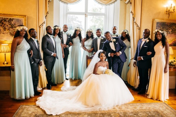 Chic Tented Wedding at Fennes by Dollhouse Events 66