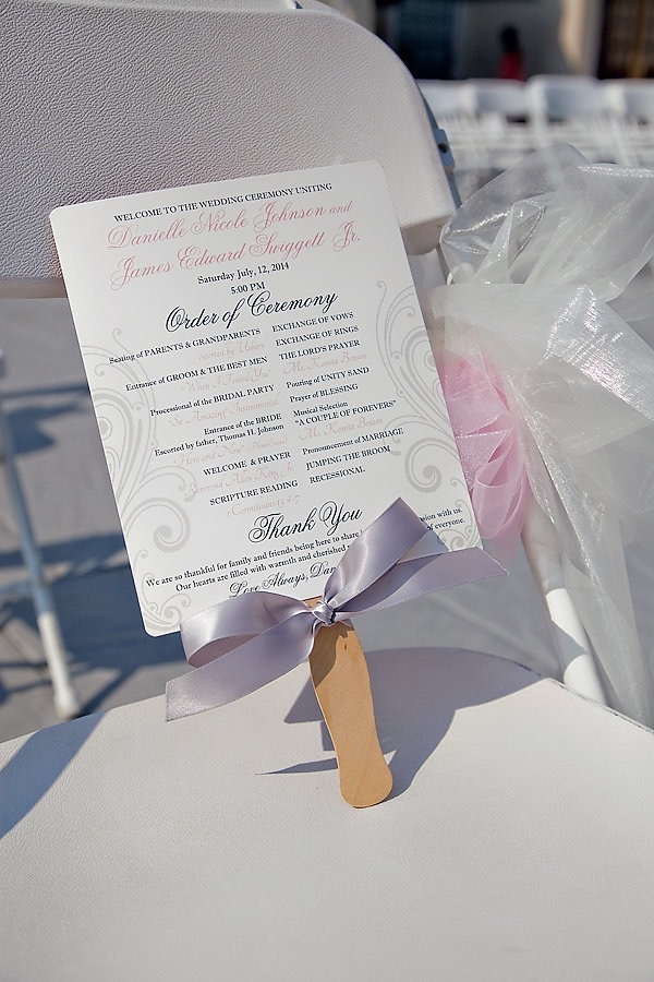 Pink and Silver Summer Wedding by UBARA 5