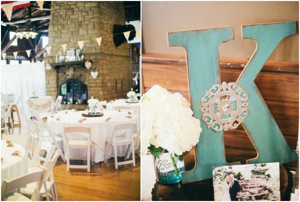 real mint wedding