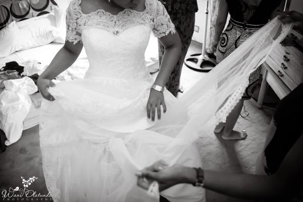 Outdoor Lagos Wedding by Wani Olatunde 16