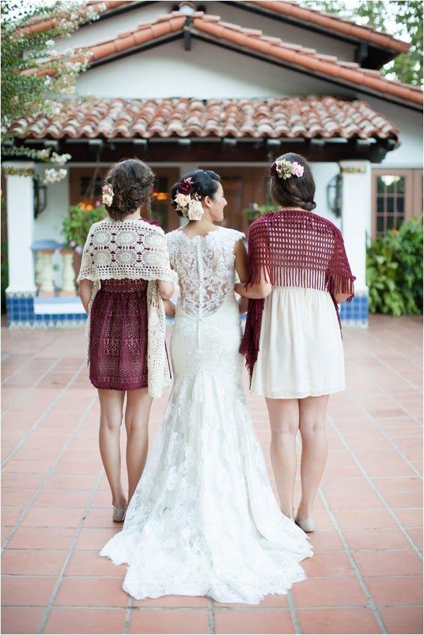 Marsala Bridesmaids