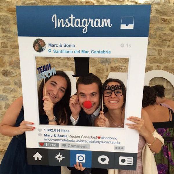 instagram photobooth prop
