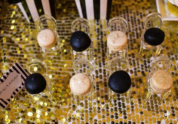 29 Black and Gold Glitter Bridal Shower