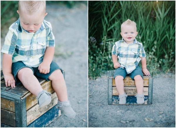 Adorable Family Shoot with VW Bus
