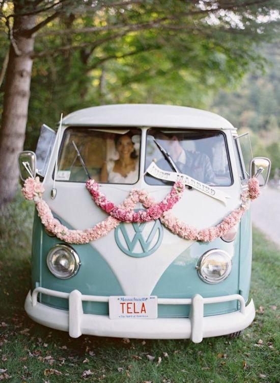 Cool Wedding Car Ideas_ Wedding Transportation 12
