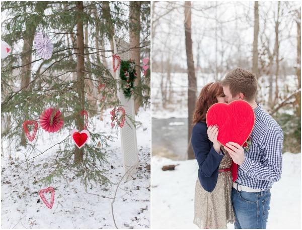 Valentine's Day surprise