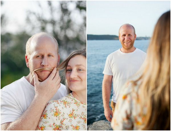 Engagement Pictures by the Cliff