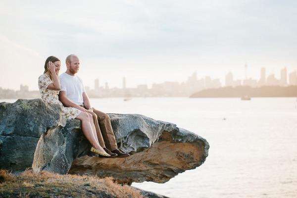 Sunny engagement shoot in sydney australia 13