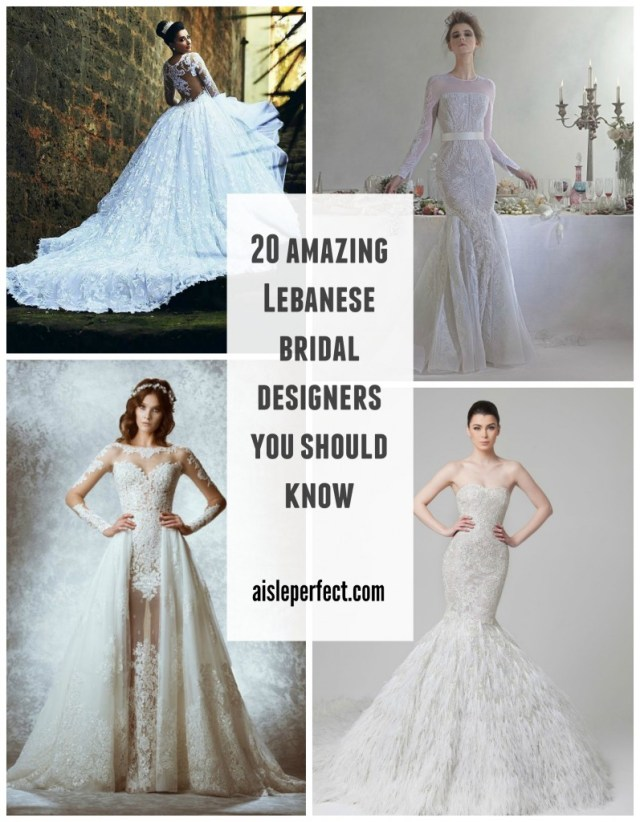 20 pretty perfect lebanese wedding designers