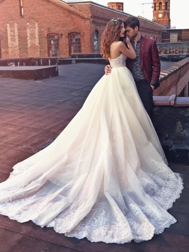 Galia Lahav Bridal Les Reves Bohemians Collection-Crystal-Back