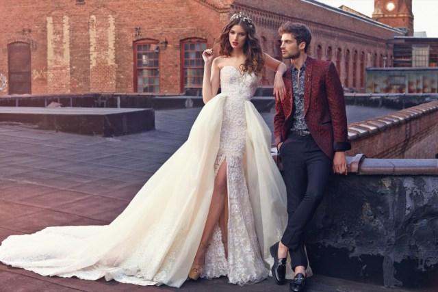 Galia Lahav Bridal Les Reves Bohemians Collection-Crystal-Front