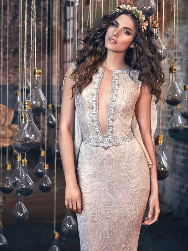 Galia Lahav Bridal Les Reves Bohemians Collection-Gemma-Front